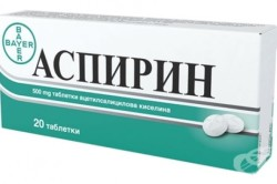 Польза аспирина при ушибе ногтя