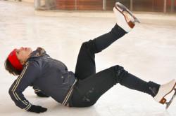 Травматическое повреждение копчика при падении