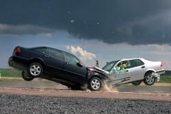 Автомобильная авария - одна из причин ушиба сердца