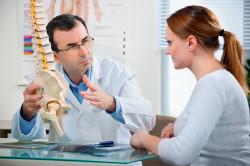 Консультация врача при ушибе позвоночника