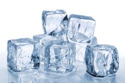 Польза льда при синяках