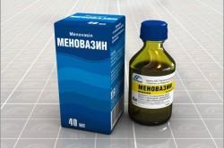 Меновазин для лечения ушибов