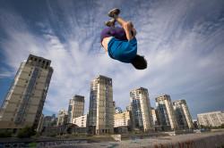 Экстремальные виды спорта - причина перелома пяточной кости