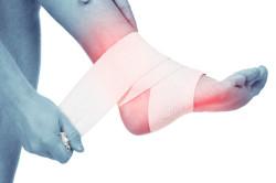 Сильная боль при закрытом переломе