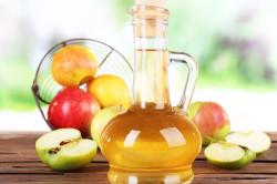 Яблочный уксус для компрессов против синяков