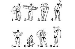 Упражнения для восстановления после перелома лучевой кости со смещением с экспандером