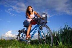 Ушиб копчика при катании на велосипеде