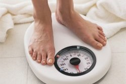 Снижение веса - симптом анемии