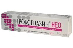 Использование геля Троксевазин для улучшения кровообращения в поврежденном участке