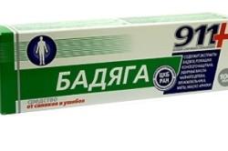 «Бадяга» для лечения синяков