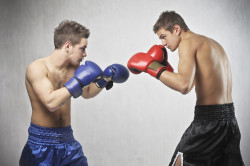 Переломы у пястных костей у боксеров
