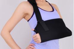 Фиксация плеча при переломах костей рук