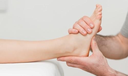 Проблема растяжения связок голеностопа