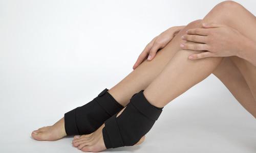 Проблема растяжения связок ноги