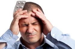 Хронические головные боли - последствие ушиба копчика