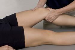 Лечебный массаж при ушибе голени