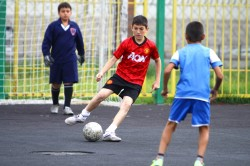 Игра в футбол - причина вывиха надколенника