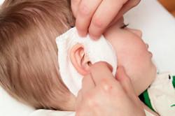 Компресс на ухо при отите  на фоне ушибов