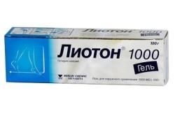 Лиотон для лечения разрыва крестообразной связки колена