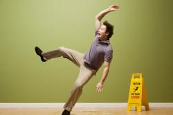 Падение с небольшой высоты - причина возникновения перелома
