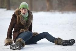 Падение - причина перелома стопы