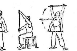 Упражнения с палкой после перелома руки