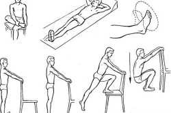 Легкие упражнения после перелома голеностопа