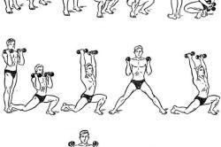 Упражнения для восстановления после перелома лучевой кости со смещением с гантелями